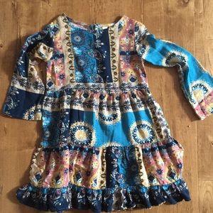 Girls Bohemian Style dress